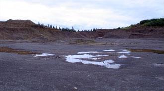 9.5 mile lake road gravel pit